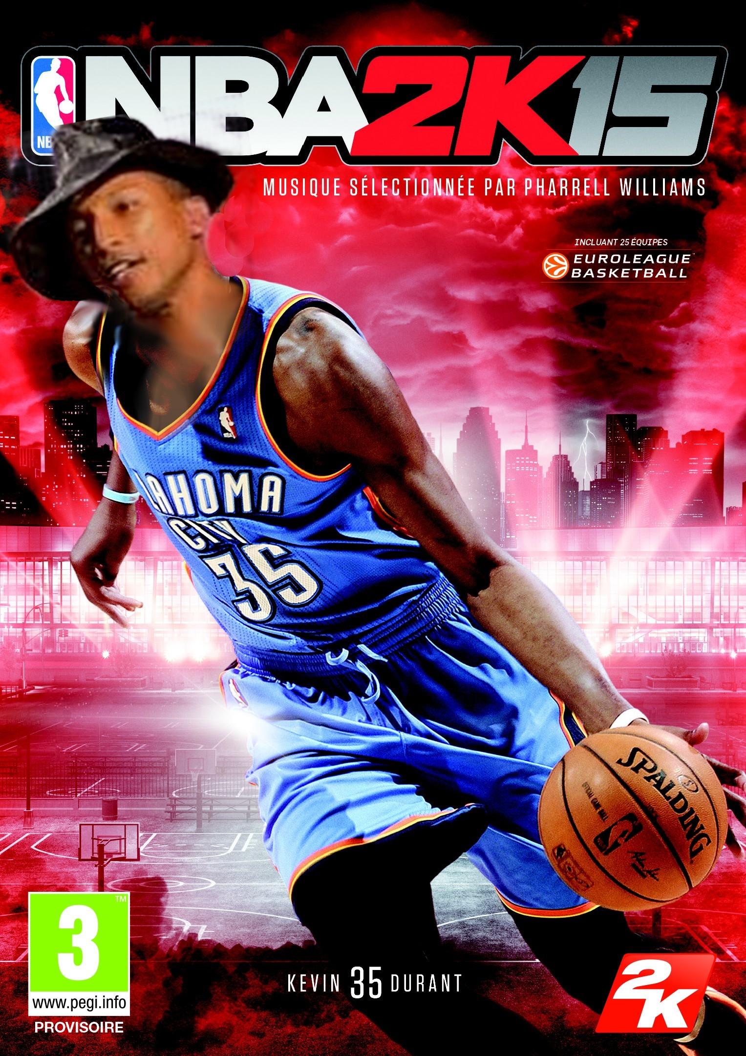 Du Pharrell Williams dans NBA 2K15_parodie