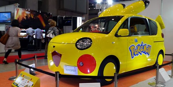 Les Toyopets, 2 voitures Pokemon Toyota