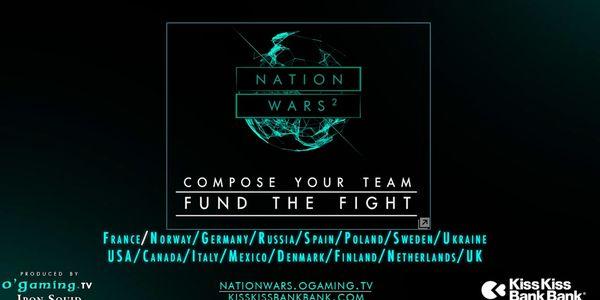 Retour des Nation Wars² le 26 juillet !