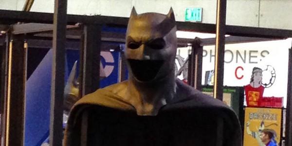 Batman v Superman : Ben Affleck porte le masque