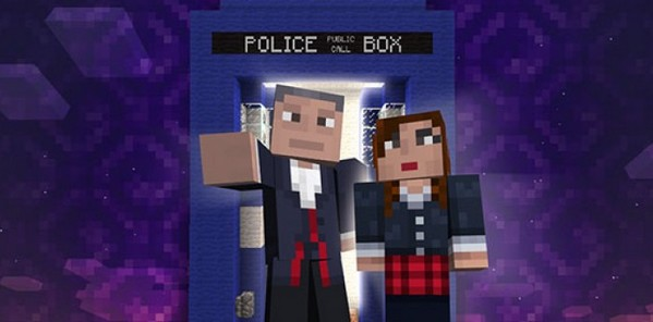 Doctor Who atterrit dans Minecraft !_image1