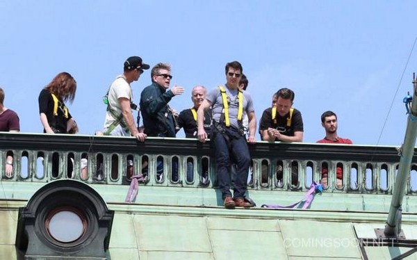 Mission : Impossible 5, photos du tournage
