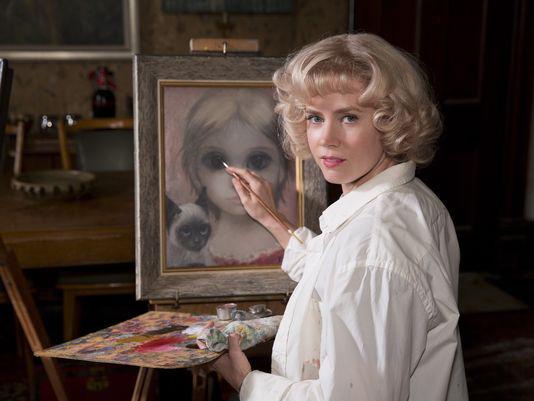 Amy Adams peint pour Tim Burton