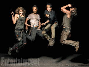 cast_Les héros de The Walking Dead prennent la pose