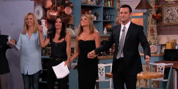 Jimmy Kimmel ressuscite Friends...