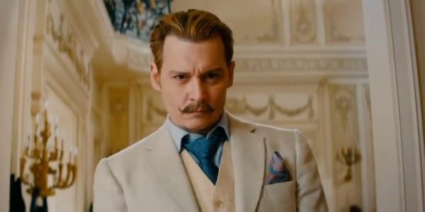 Bande-annonce de Johnny Depp en Mortdecai !
