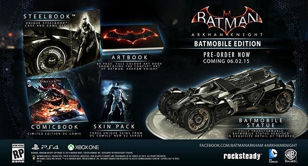 Batman : Arkham Knight débarque le 2 Juin