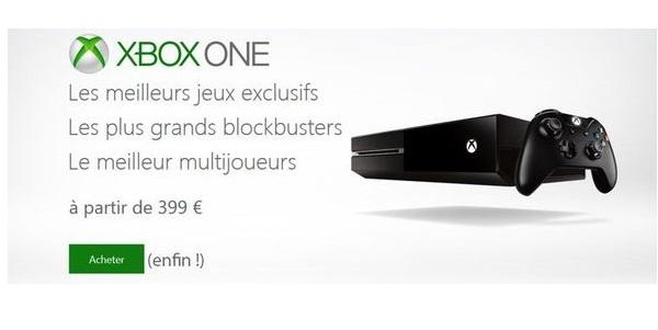 Sans blagues, la Belgique aura la Xbox One _1