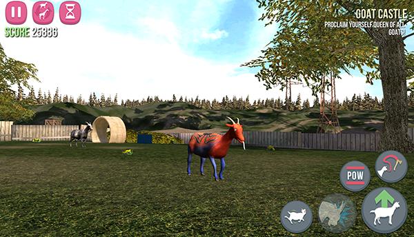 Goat Simulator : Une chèvre dans la ville