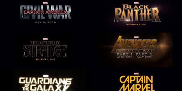 Marvel: la phase 3 au complet