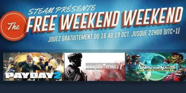 Steam : du gratuit pour le weekend !