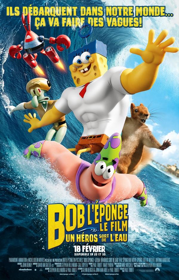 Bob l'Éponge 2 : affiche et vidéo du film