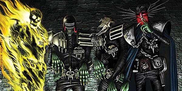 Les Dark Judges de Dredd dans une mini-série !