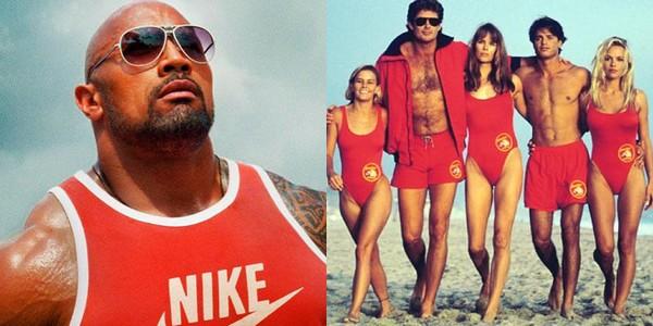 Dwayne Johnson, sauveteur dans Alerte à Malibu !