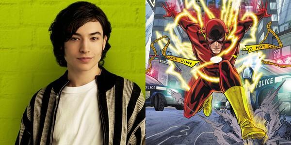 Ezra Miller devient le nouveau Flash !