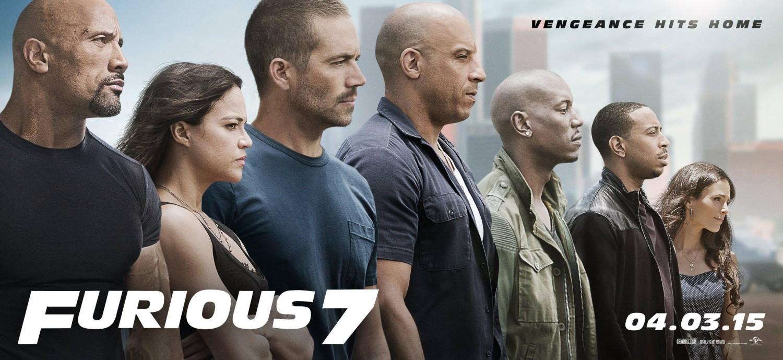 Fast & Furious 7 : un poster et un titre