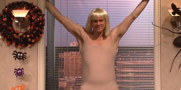 Jim Carrey parodie Chandelier de Sia