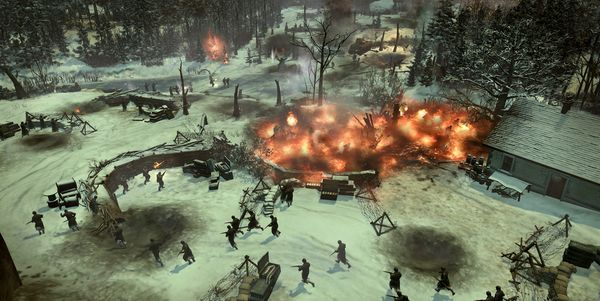 Company of Heroes 2 : Ardennes Assault au combat !