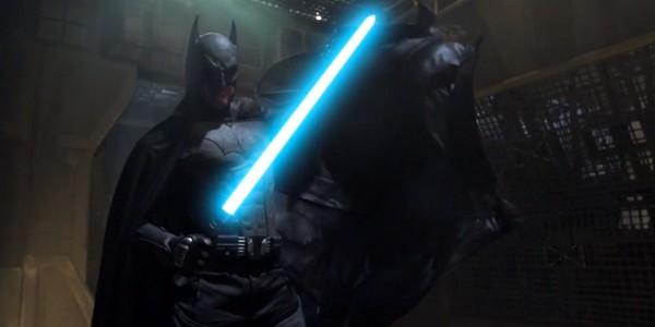 Batman vs Dark Vador, la vidéo !