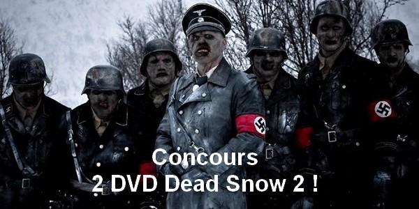 [Concours] 2 DVD Dead Snow 2 à gagner !