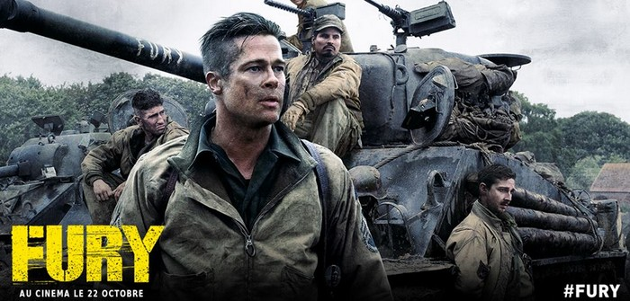 [Critique] Fury : tank à faire la guerre...