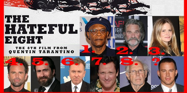 The Hateful Eight : le casting complet !