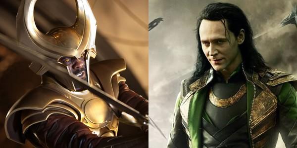 Heimdall et Loki dans Avengers 2