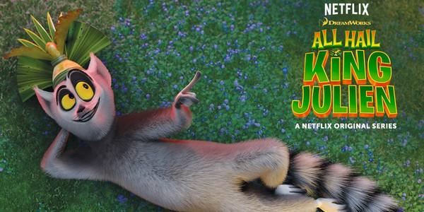 Le King Julien de Madagascar arrive sur Netflix !