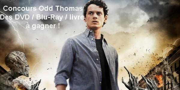 [Concours] Des DVD / Blu-Ray / livre Odd Thomas à gagner