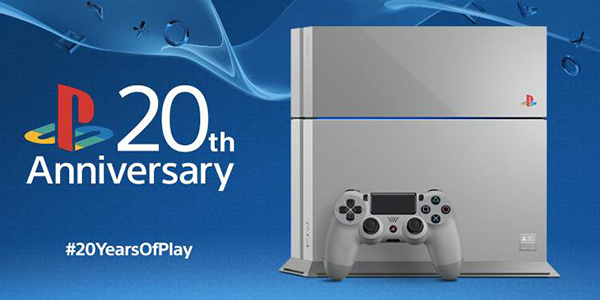 La Playstation souffle ses 20 bougies !