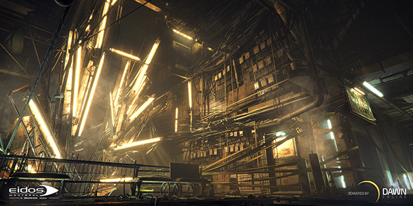 Eidos Montreal présente Dawn Engine