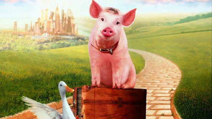 La voix de Babe le cochon n'est plus...