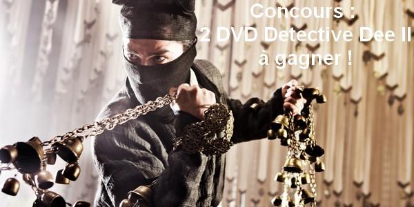 [Concours] 2 DVD Detective Dee II !