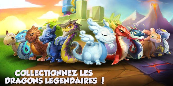Dragon Mania Legends disponible gratuitement !