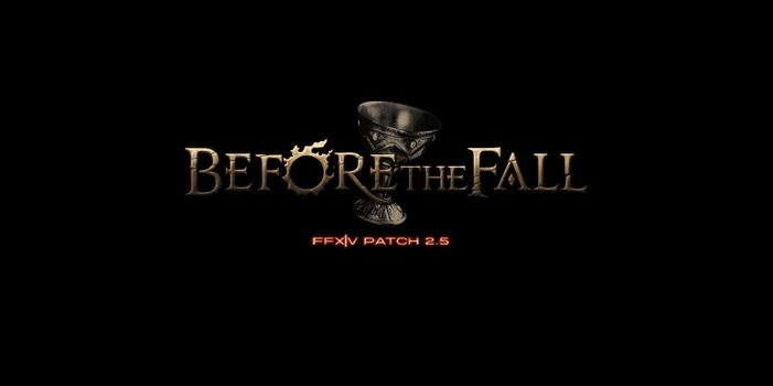 FINAL FANTASY XIV Before the Fall gratuit ce weekend !