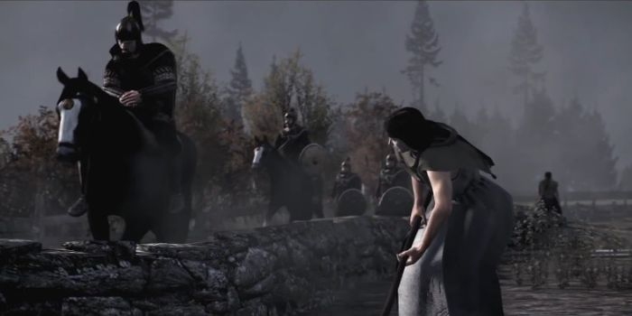 """Total War : Attila et """"le Cheval Noir"""" de famine et de migration"""