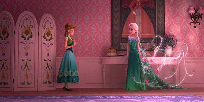 Anna et Elsa Frozen Fever