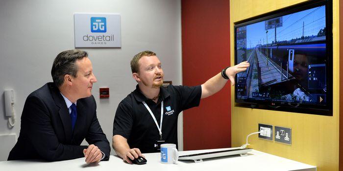 David Cameron s'invite chez Dovetail Games