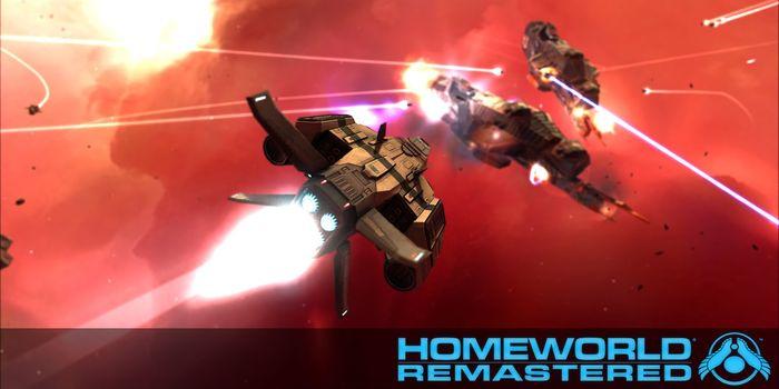Homeworld Remastered Collection une vidéo des conquètes