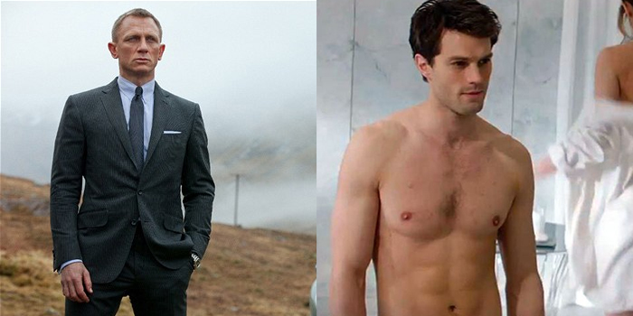 James Bond Christian Grey