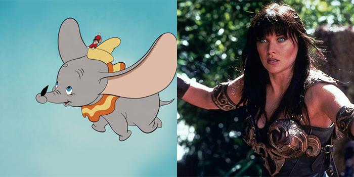 Dumbo Xena