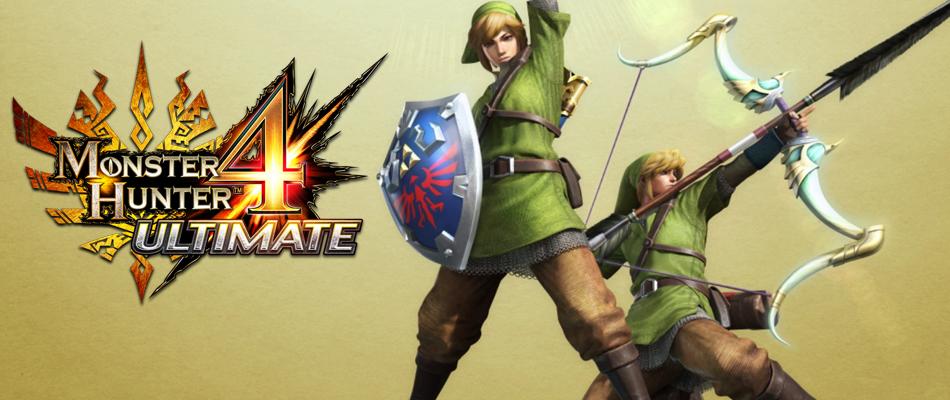 Monster Hunter 4 Ultimate : partez à la chasse avec Link