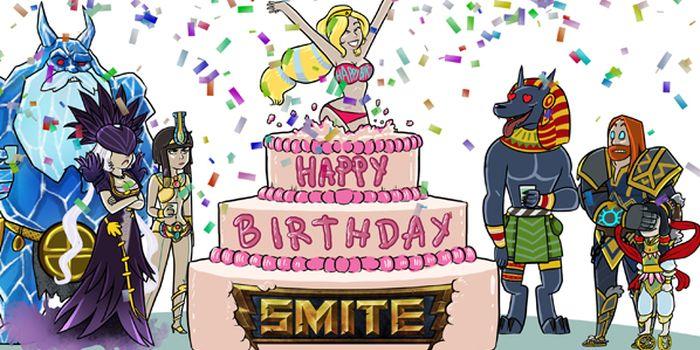 SMITE célèbre son premier anniversaire !