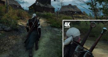 Screenshot en 4K de The Witcher 3 : Wild Hunt