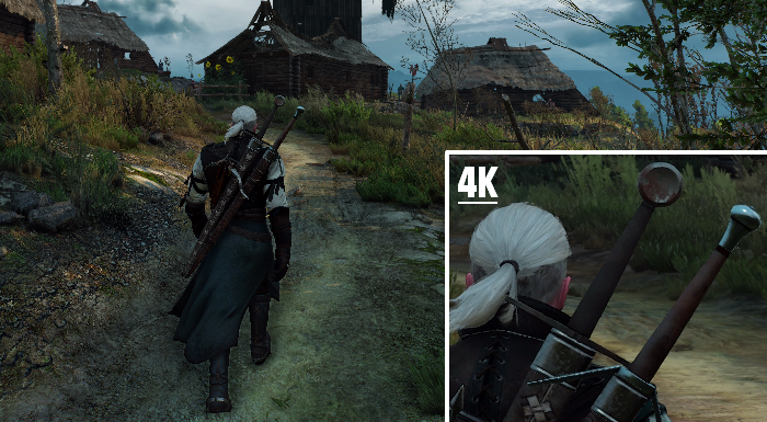 Screenshot en 4K de The Witcher 3 : Wild Hunt