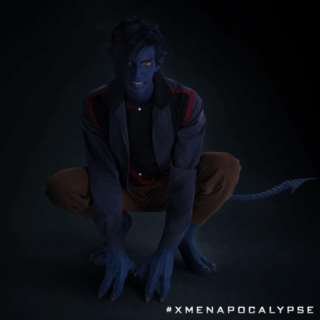 Première image de Diablo / Nightcrawler dans X-Men Apocalypse !