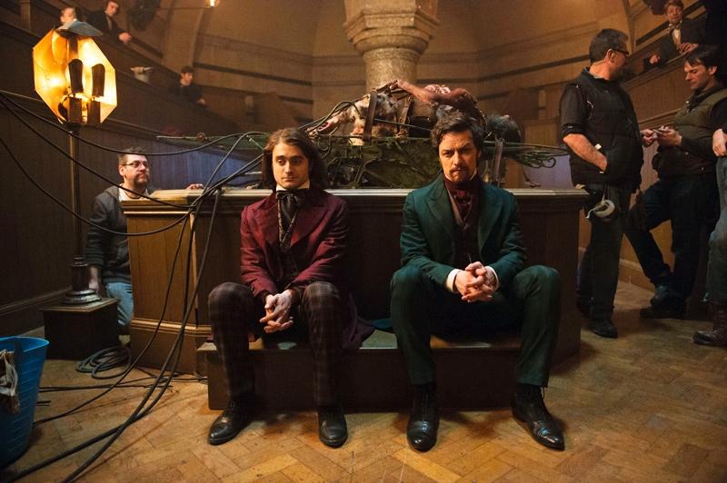 Victor Frankenstein : Daniel Radcliffe et James McAvoy en image
