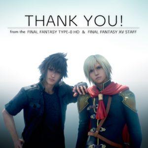 Final Fantasy Type-o écoule plus d'un million de copies thankU