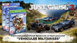 Just Cause 3 première vidéo de gameplay !