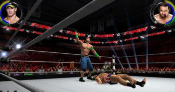 La première simulation WWE arrive sur supports mobiles_John Cena vs. Rusev